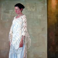 Figure With Shawl by HeatherHorton