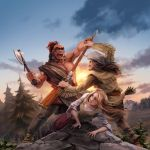 The Last of the Mohicans by nikogeyer