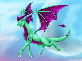 Flying High - Gift for CaSF by Wyndbain