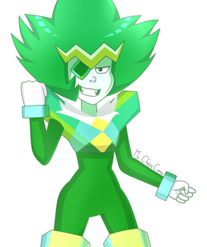 Emerald (Lars of the Stars) by MrChaseComix
