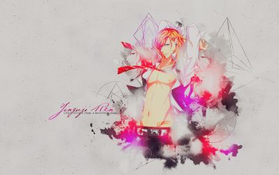 Wallpaper Jinguji Ren by lady-alucard