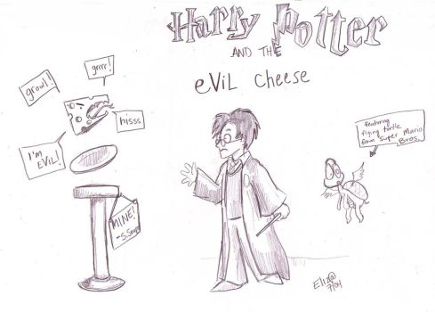 Snape's eViL cheese by Eliza-the-artist