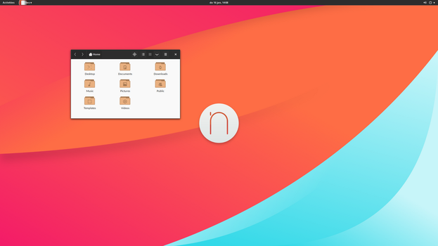 Gnome-shell Numix by beta992
