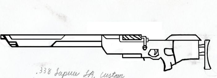 Sniper Rifle Concept by wildlevi