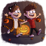 Spoopy Halloween! by ArcherVale