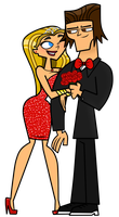 Valentine Prom - Lindsay and Tyler by EvaHeartsArt