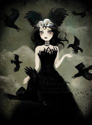 The Crow Queen by AnneJulieAubry
