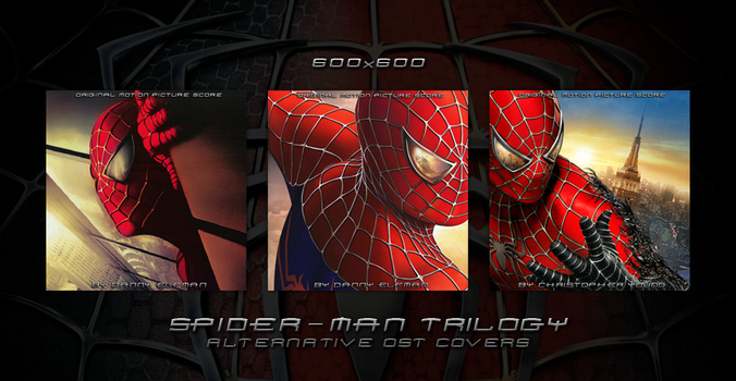 Spider-Man Trilogy - Alternative OST Covers by HelloMrBen
