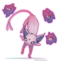 Espeon by Himmely