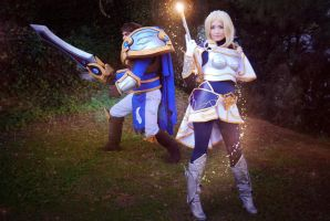 Lux and Garen - League of Legends by NunnallyLol