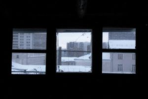 View from the garret: Triptych by Utena-Lina