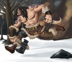 Barbarian by fdiskart