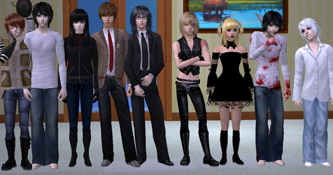 Another Death Note Sim Group by MisgivingsX
