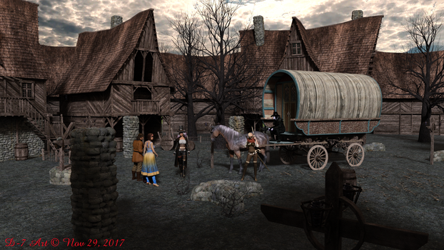 Witch Hunters Arrive at Village 2 by ddpepsi
