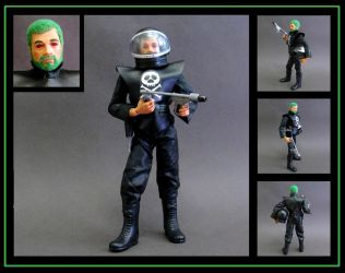 Action Man Space Pirate - custom figure by nightwing1975