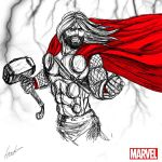 Heroes Series: THOR by LouizBrito