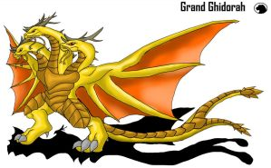 G.A: Grand Ghidorah by Blabyloo229