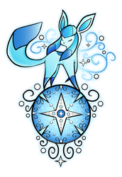 Glaceon Design by MissIllustrative