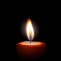 A Candle in the Dark by archaemic