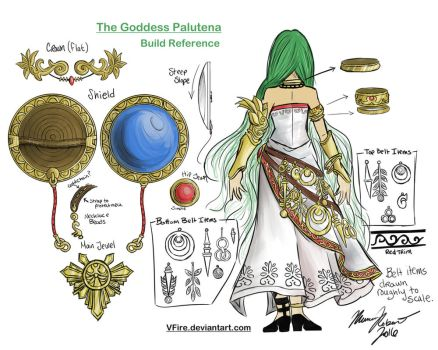 Palutena Build Reference Color by Renna-Mira