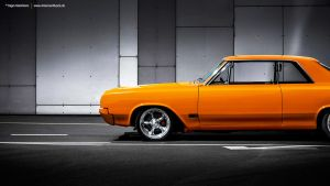 Orange 1965 Oldsmobile by AmericanMuscle