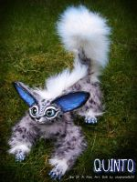 --SOLD--'Quinto' The snow-leopard fennec fox doll by stephanie1600