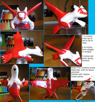 Hand Made Latias Model