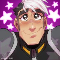 Shiro Giveaway icon: Starry-eyed by zillabean