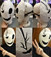 Cosplay Commission - Gaster Mask by Emme-Gray