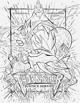 RobDuenas Poster Inked by Thornster