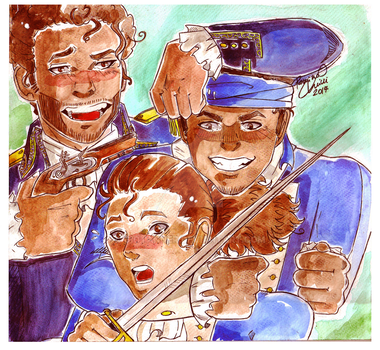 The Revolutionary Squad by GioTanner
