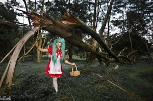 Miku: Little Red Riding Hood by balleash