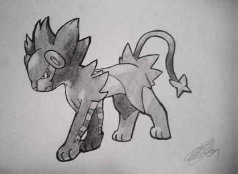 Luxray by twentyxguns