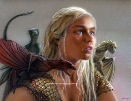 Mother of Dragons by mcalandra