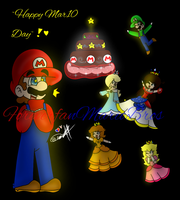 ~Happy Mar10 Day!!! :D~ by ForeverfanMarioBros