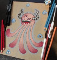 Monstroctopus Page by loveandasandwich