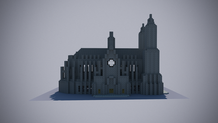 Catedral Minecraft 2 by andrei030