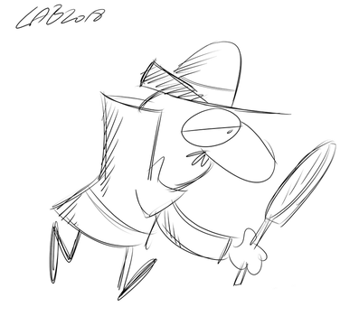 Toon June Day 7: The Inspector by bakertoons
