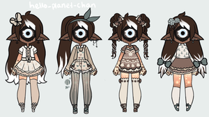 Outfit set - Bianca by hello-planet-chan