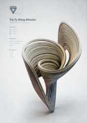Strange Attractors - The Yu - Wang Attractor by ChaoticAtmospheres