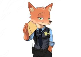detective nick wilde by PK4G