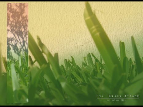Evil Grass Attack by Nahand