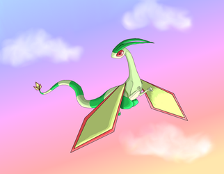 Flygon by blushingmoonwisp