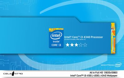 Intel Core i3 4th Gen Wallpapers by 18cjoj