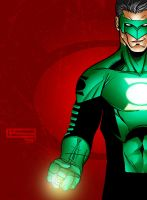 kyle rayner by ignitestudio