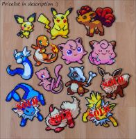 Pokemon Sprite Sale by Aenea-Jones