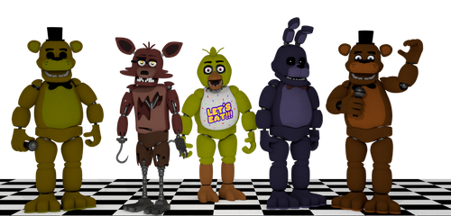 FNAF Characters by EverythingAnimations