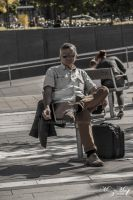 Waiting in the sun [Street Life Series] by iMehnaz