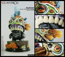 Gillbeart details by SquareFrogDesigns