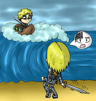 [APH] Swedish Deluge (literally) by SailorSetsuna